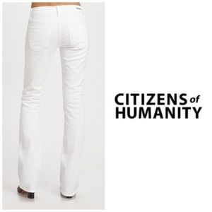 NWT Citizens Of Humanity White Bootcut Jeans 👖